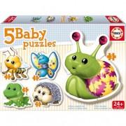 Educa Borrás - Animales del Bosque - Baby Puzzle