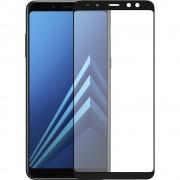 Folie protectie ZMEURINO ZMVIP_A8PLUS2018 Sticla Securizata Full Body 2.5 D Negru pentru SAMSUNG Galaxy A8 Plus 2018