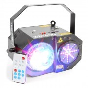Sway Jellyball LED 3in1 con Laser e Organo LED LED RGBW RG-Laser 150mW
