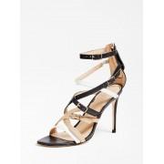 Guess Kaira Sandalen Echt Leder - Zwart multi - Size: 40