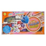 ALEX® Toys - Do-it-Yourself Wear! Paint Porcelain Jewelry 135W