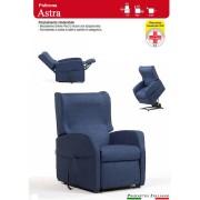 Il Benessere Poltrona Relax Astra con Due Motori Alzapersona Ampia scelta Tessuti Prodotto Italiano