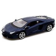 Lamborghini Aventador LP700-4, Blue - Maisto 31210 - 1/24 Scale Diecast Model Toy Car