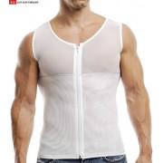 Go Softwear M Torso Shaper Muscle Top T Shirt White 2735