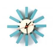 Famous Design Horloge murale Blue Bar - George Nelson