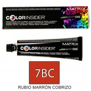 Matrix Color Insider 7BC RUBIO MARRON COBRIZO tinte 60gr.