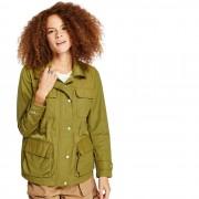 Timberland Veste Militaire M65 Pour Femme En Vert Vert, Taille L