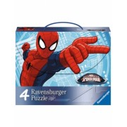 Puzzle Spiderman, 2X64, 2X81 Piese Ravensburger