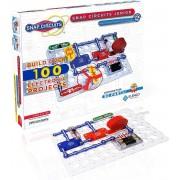Elektronica Experimenteer Kit Snap Circuits Jr. SC-100 Meer dan 100 STEM Projecten Gekleurde Projecthandleiding 30+ Snap Circuits Elektronica Onderdelen Leerrijk STEM Speelgoed voor Kinderen 8+