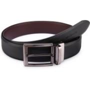 Tommy Hilfiger Men Formal Black, Brown Synthetic Reversible Belt