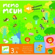 Joc Djeco cu sunete Memo Meuh