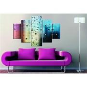 Tablou decorativ multicanvas Miracle, 5 Piese, 236MIR1955, Multicolor