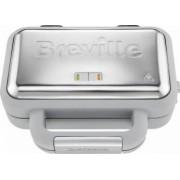 Waffle Maker Breville Duraceramic VST072X-01 850W Alb-Argintiu