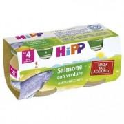 Hipp italia srl Omo Hipp Bio Salmone 2x80g
