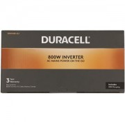 Duracell 800W Power Inverter with Dual AC & USB (DRINV80-EU)
