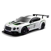 Maisto R/C 1:24 Scale Bentley Continental GT3 Radio Control Vehicle (Colors May Vary)