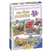 Primul Meu Puzzle Utilaje Agricole 2 4 6 8 Piese