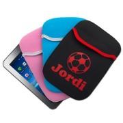mini iPad/Tablet sleeve met naam bedrukt