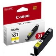Cartus Canon CLI-551 XL Galben IP7250 MG5450 MG6350