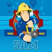 Sam a tűzoltó kéztörlő, arctörlő