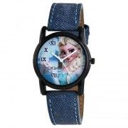 RIDIQA Analog Blue Dial Kids Watch-RD-021