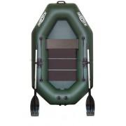 Čln Kolibri K-220 zelený, lamelová podlaha