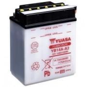 YUASA Batería de la motocicleta YUASA YB14A-A2