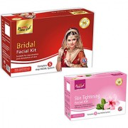 Beeone Bridal+ Skin Whitening 5 Steps Facial Kit 80 g Pack of 2