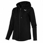 Hanorac sport cu gluga femei Puma MODERN SPORT FZ Logo negru XL