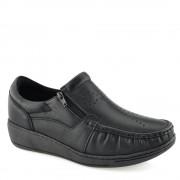 Sapato Anabela Luva de Pelica 9048