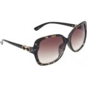 Zyaden Over-sized Sunglasses(Violet)
