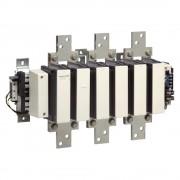 Schneider Electric, TeSys F, LC1F780M7, Mágneskapcsoló, 400kW/780A (400V, AC3), 220V AC 40..400 Hz vezerlés, csavaros csatlakozás, TeSys F (Schneider LC1F780M7)