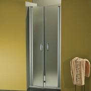 Porta doccia a due battenti Morena da 67/70 cm in cristallo 6 mm