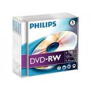 Philips DVD-RW 4.7GB írható DVD