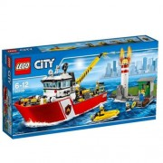 Lego City Fire - Motobarca antincendio