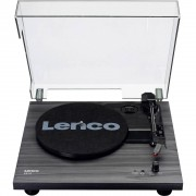 Lenco LS-10 Gramofon Remenski pogon Crna