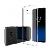 Husa Ultra Slim Samsung Galaxy S8 Plus Silicon Transparent
