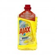 Detergent Universal Lichid Pardoseli AJAX Boost Baking Soda & Lemon, Cantitate 1 Litru, Parfum de Lamaie, Detergent Lichid pentru Pardoseli, Solutie pentru Podea, Detergent Lichid Ajax, Solutie Universala de Curatat, Produse de Curatenie
