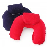 Neck Support Travel Soft Inflatable Pillow Head Rest Cushion