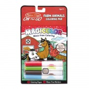 Carnetel de colorat Magicolor, animale de la ferma, 18 pagini