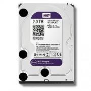 WD Purple 2TB 3.5 SATA 64MB