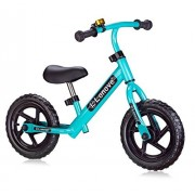 Child's Balance Bike 12 by LONOVE No-pedal Push Walk Run Stride Design First Bike for Babies Toddlers Children Ages 18 Months to 6 Years- Specialized Learn-To-Ride Sport Balance Bicycle-Blue
