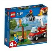 Конструктор Лего Сити - Изгарящо барбекю, LEGO City, 60212