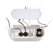 D-Line Kabelbox Stor Vit