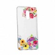 Husa Silicon Transparent Slim Flower Huawei Honor 5C Honor 7 Lite