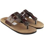 Blinder Men's Brown Flip-Flop Slipper
