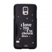 Fab Smartphone covers Disco Glitter Hardcase Galaxy S5 Zwart