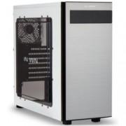 Кутия In Win 703, ATX, бяла с черен кант, прозорец, USB3.0, без захранване,