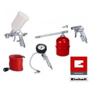 Kit di accessori per compressore 5 pz attacco rapido Einhell