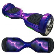 Anboo New Style 2 Wheels Protective Vinyl Skin Decal For 6.5IN model Self Balancing Scooter Hoverboard (J)
